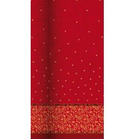 Скатерть DUNICEL 1,20 х 25 м банкетная в рулонах. Цвет: CHRISTMAS DREAM. 1 штука