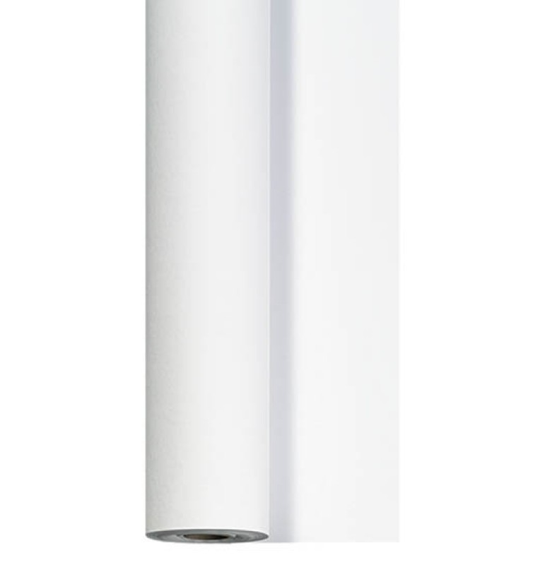 Скатерть DUNICEL 1,18 х 25 м банкетная в рулонах. Цвет: белый. 1 штука