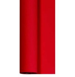 Скатерть DUNICEL 1,18 х 10 м банкетная в рулонах. Цвет: красный. 1 штука