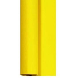 Скатерть DUNICEL 1,18 х 5 м банкетная в рулонах. Цвет: желтый. 1 штука