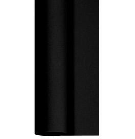 Скатерть DUNICEL 1,25 х 25 м банкетная в рулонах. Цвет: чёрный. 1 штука