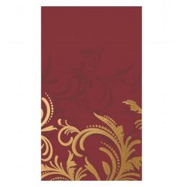 Скатерть DUNICEL 138 х 220 см, дизайнерская. Цвет: GRACE BORDEAUX. 1 штука