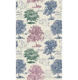 Скатерть DUNICEL 138 х 220 см, дизайнерская. Цвет: MY FOREST VIEW. 1 штука