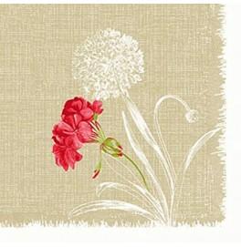 Скатерть (наперон) DUNICEL 84 х 84 см, дизайнерские. Цвет: ALMERIA. 1 штука