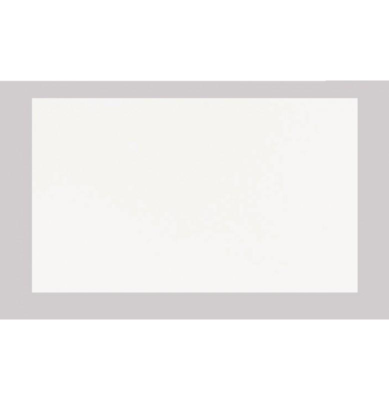 Скатерть (наперон) DUNICEL 84 см х 84 см, однотонные. Цвет: Белый; 1 штука