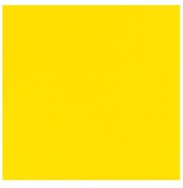 Скатерть (наперон) DUNICEL 84 см х 84 см, однотонные. Цвет: жёлтый. 1 штука