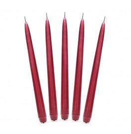 Свеча Aнтичная 250х22 мм. Цвет: бордовый; 1 шт