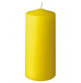 Свеча PILLAR 130х60 мм. Цвет: жёлтый; 1 шт